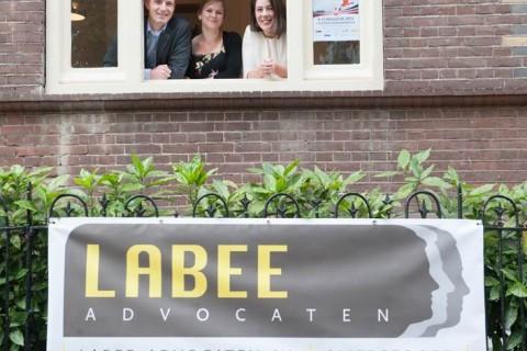 Labee Advocaten lanceert nieuwe logo.